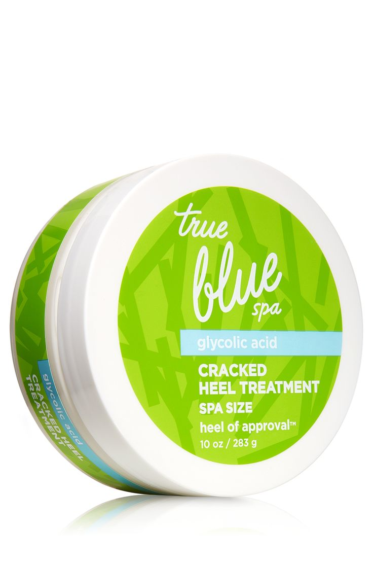 Cracked Heel Treatment - Heel of Approval - True Blue® Spa - Bath & Body Works  NO excuse for dry feet.
