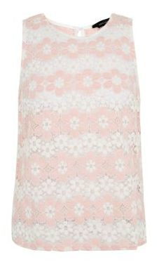 Newlook: http://www.newlook.com/shop/womens/tops/pink-and-white-daisy-lace-shell-top-_311533270