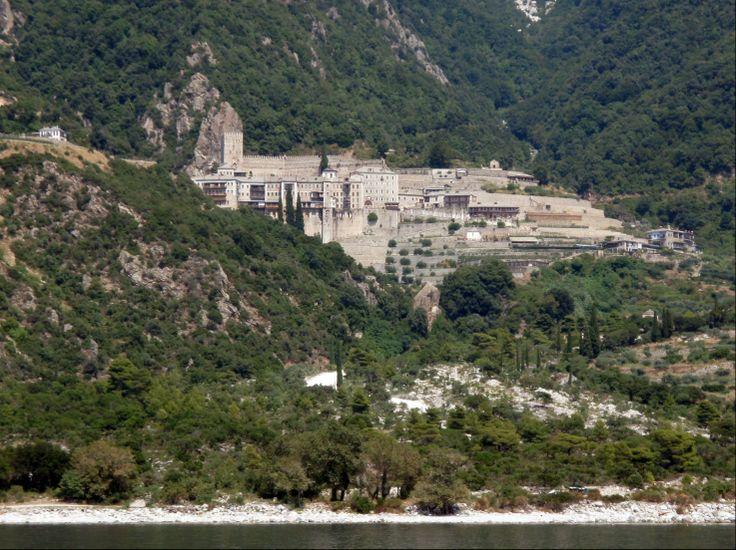 HALKIDIKI - Mt ATHOS Agios Pavlos Monastery