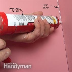 Quick fixes for the 8 most common drywall flaws, including nail pops, cracks at corners, bubbled or loose tape and holes. Fix them right before you paint for a longer lasting paint job.