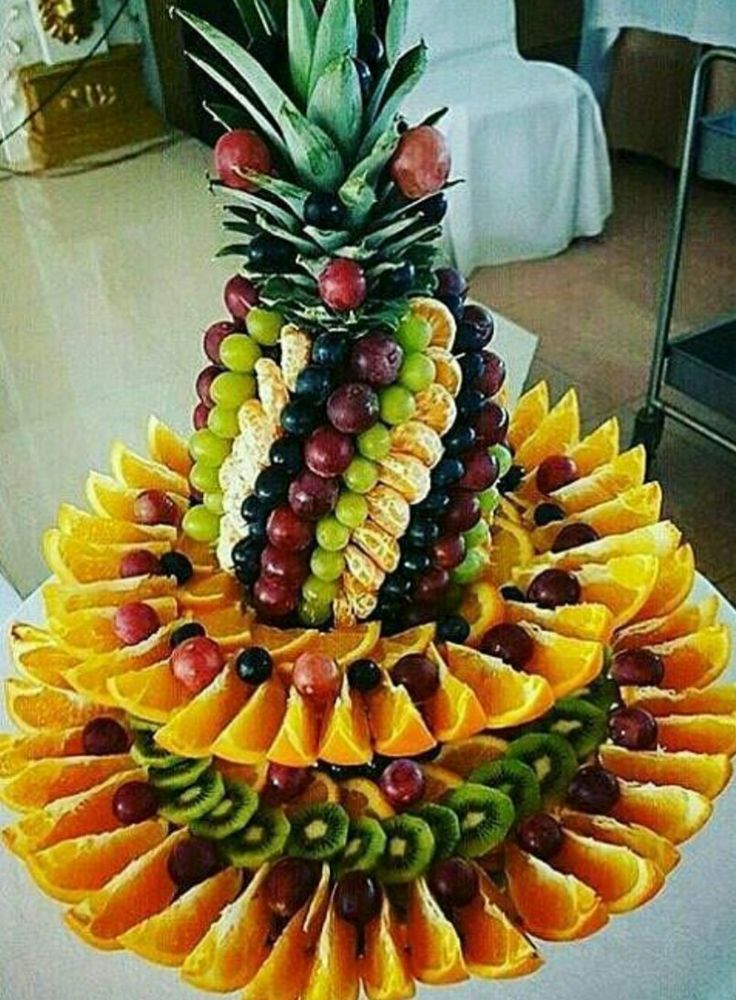 90 best fruit centerpiece images on pinterest
