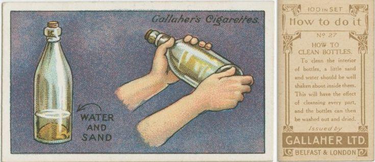 Czyszczenie butelek