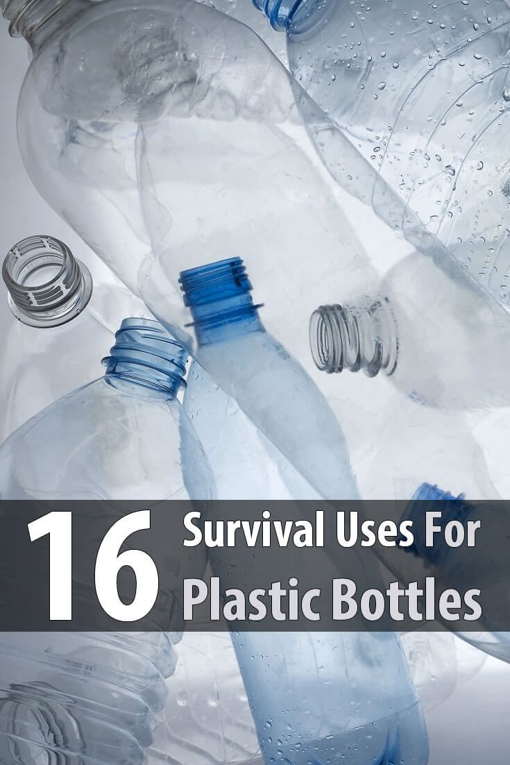Plastic bottles can be used as a scoop, to make a bowl, make a spoon, make a funnel, to collect edibles, to start seeds, and more.