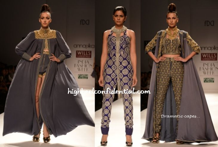 Indian Fashion 2014 | India Fashion Week S/S 2014: Annaikka : High Heel Confidential