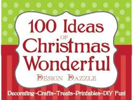 100 Ideas for Christmas Wonderful...collection of Crafts for kids