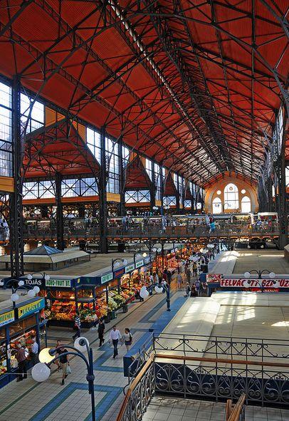 Vasarcsarnok Budapest  Great Market Hall