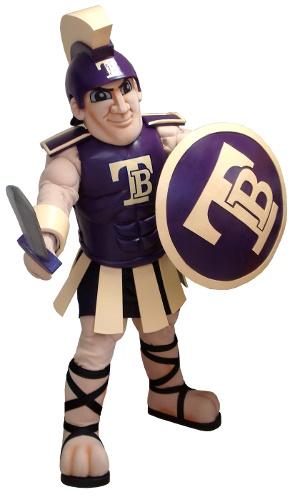 Here comes the Trojan for Troy Buchanan High School!