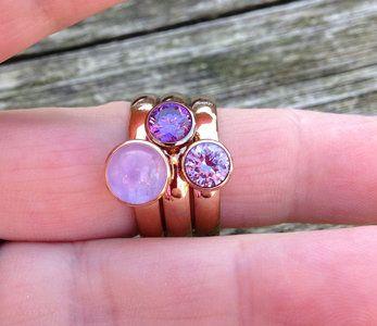 Twisted MelanO met purple / Lavender tinten