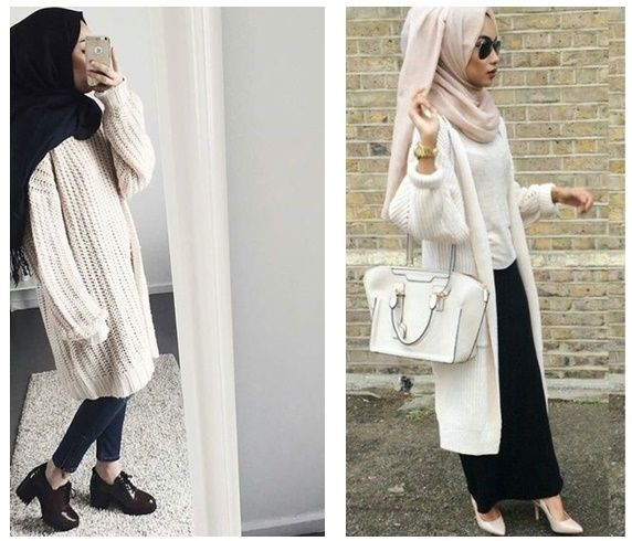 Fabuleux Les 25 meilleures idées de la catégorie Tenues avec hijab sur  HY98