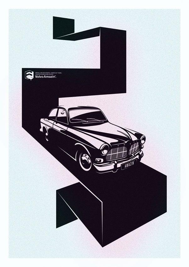 Volvo, car, design, inspiration, illustration