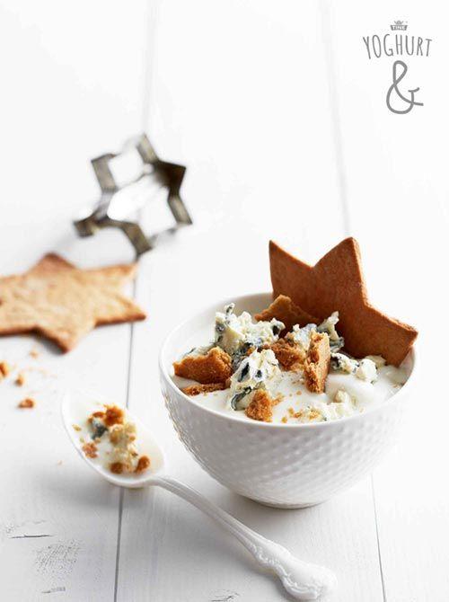Yoghurt & Pepperkake & Blåmuggost - Se flere spennende yoghurtvarianter på yoghurt.no - Et inspirasjonsmagasin for yoghurt.