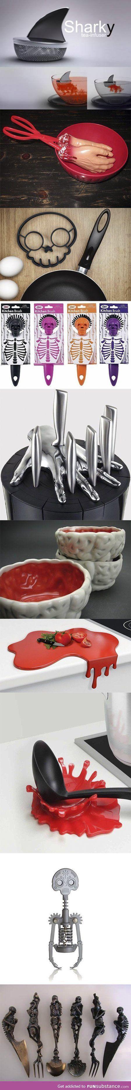 Cuantos accesorios de cocina hay raros ?!?!?!?