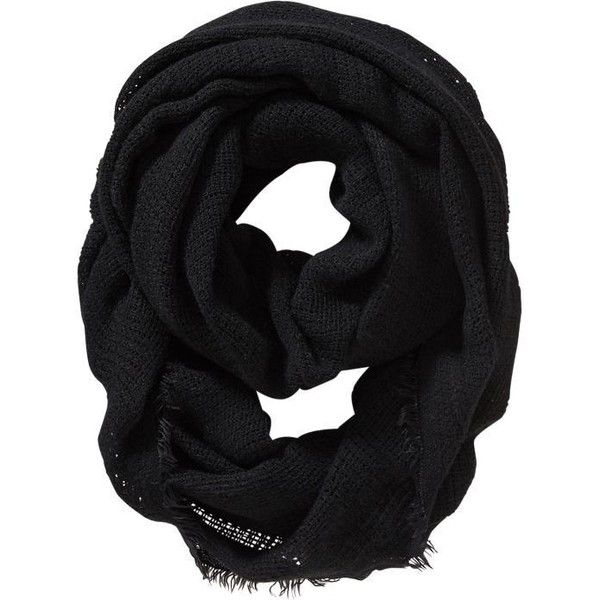 Old Navy Womens Lightweight Sweater Infinity Scarf ($15) ❤ liked on Polyvore featuring accessories, scarves, black, infinity scarves, infinity loop scarves, circle scarf, loop scarf and knit scarves