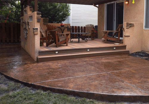 1000 Images About Stamped Concrete On Pinterest Stains