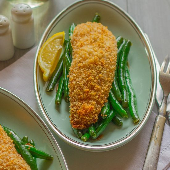 This easy recipe for baked tilapia uses panko bread crumbs and takes 15 minutes in the oven.