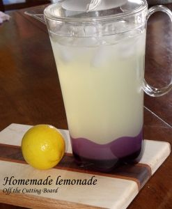 Homemade Lemonade How come nobody ever told me that homemade lemonade tastes this good! It's nothing at all like the powders or frozen concentrates! You have to try it!