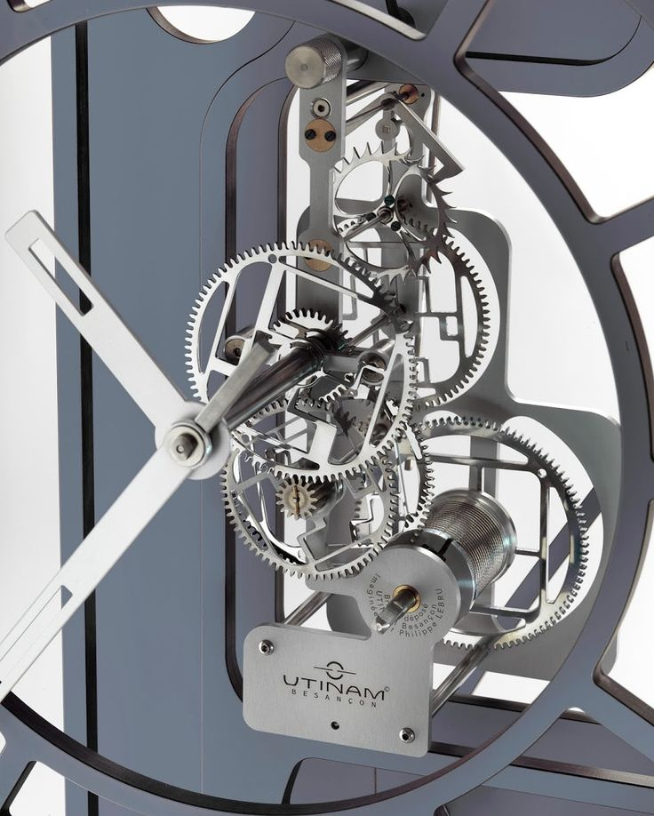 Photo: Horloge UTINAM mécanisme