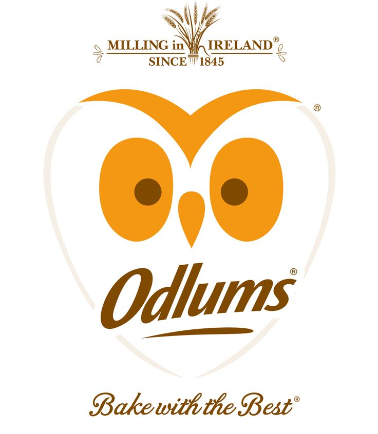 New Odlums logo, created by Mesh Design!