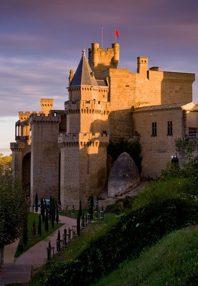 Olite Castle, Navarra, Spain