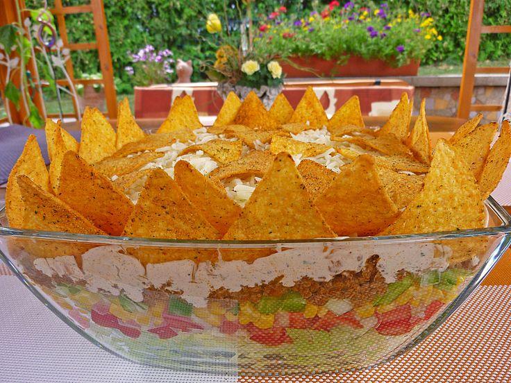 Heisenbergs Küche: Tacosalat (Perfekter Partysalat)