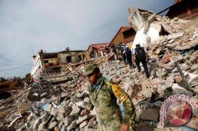 Gempa Besar Di Meksiko Tewaskan Ratusan Orang