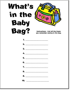 Easy Baby Shower Games   Christmas Party Games, Baby Shower Games, Bridal Shower  Games