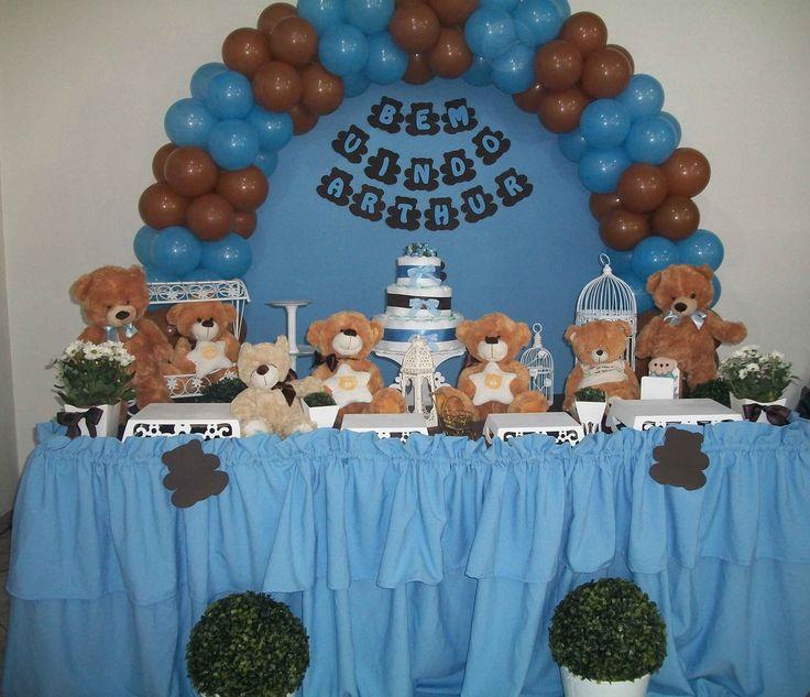 Favoritos 138 best Decoração festa Ursinhos images on Pinterest | Baby  ZF66
