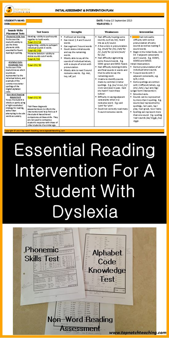 Here you'll find a new approach for the teaching of reading and spelling. It provides highly appropriate intervention for students with a learning difficulty.   http://topnotchteaching.com/lesson-ideas/essential-reading-intervention-student-with-dyslexia/