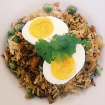 An old fashioned colonial recipe, the recipe for kedgeree supposedly evolved from the Englishman's love of kippers for breakfast, enlivened by the wonderful array of spices and rice available in India. A healthy, fast, and very cheap dish, I can't believe we don't see it touted more often by health food nuts or indeed frugal …
