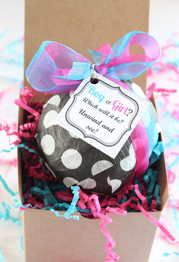 Baby Gift Ideas To Send : Ideas about gender reveal gifts on