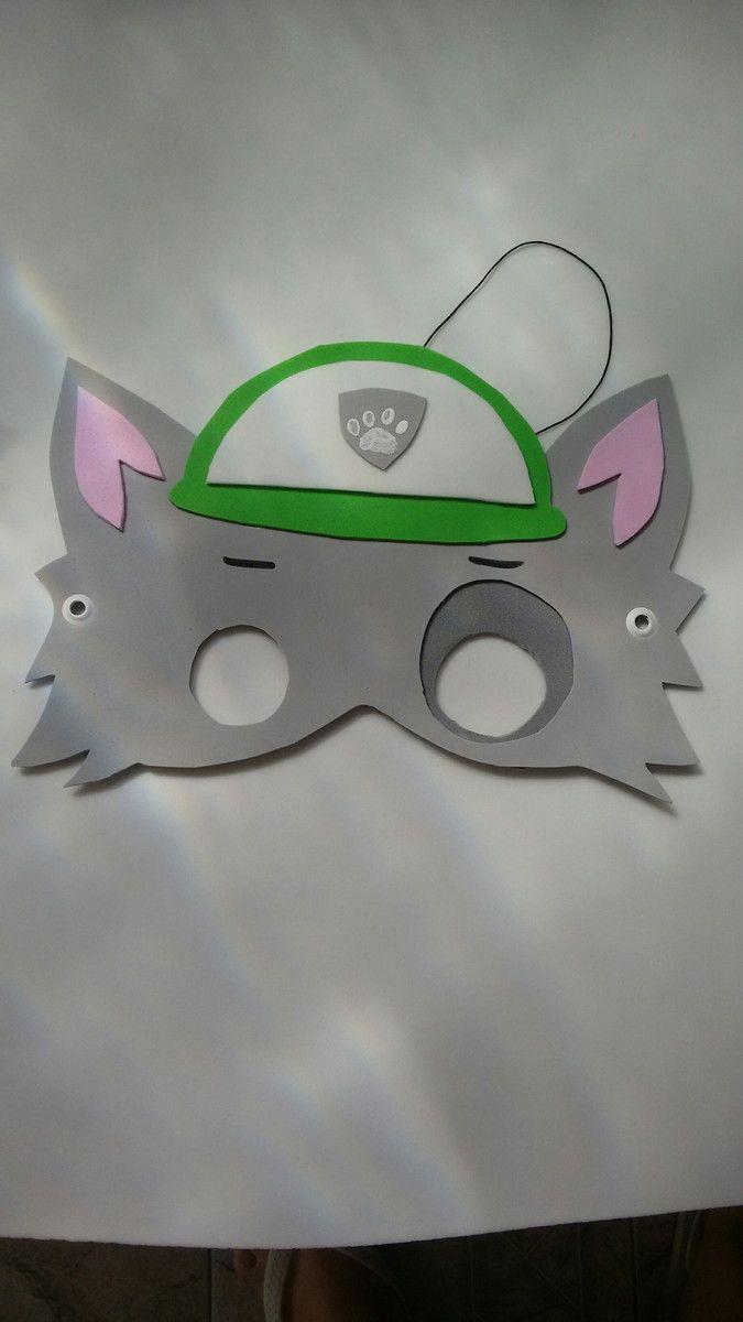 Máscaras da Patrulha canina em EVA, com ilhós e elástico, são muito bem feitas e resistentes ,deixam sua festa bem colorida e animada, ,fazemos todos os personagens na quantidade de sua escolha.