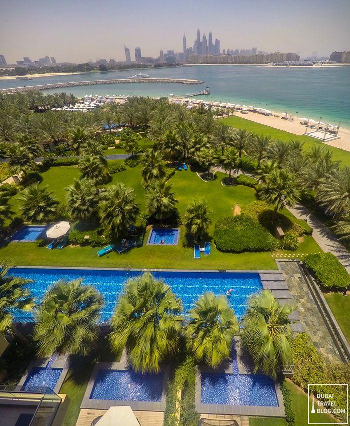 Rixos The Palm resort in Palm Jumeirah