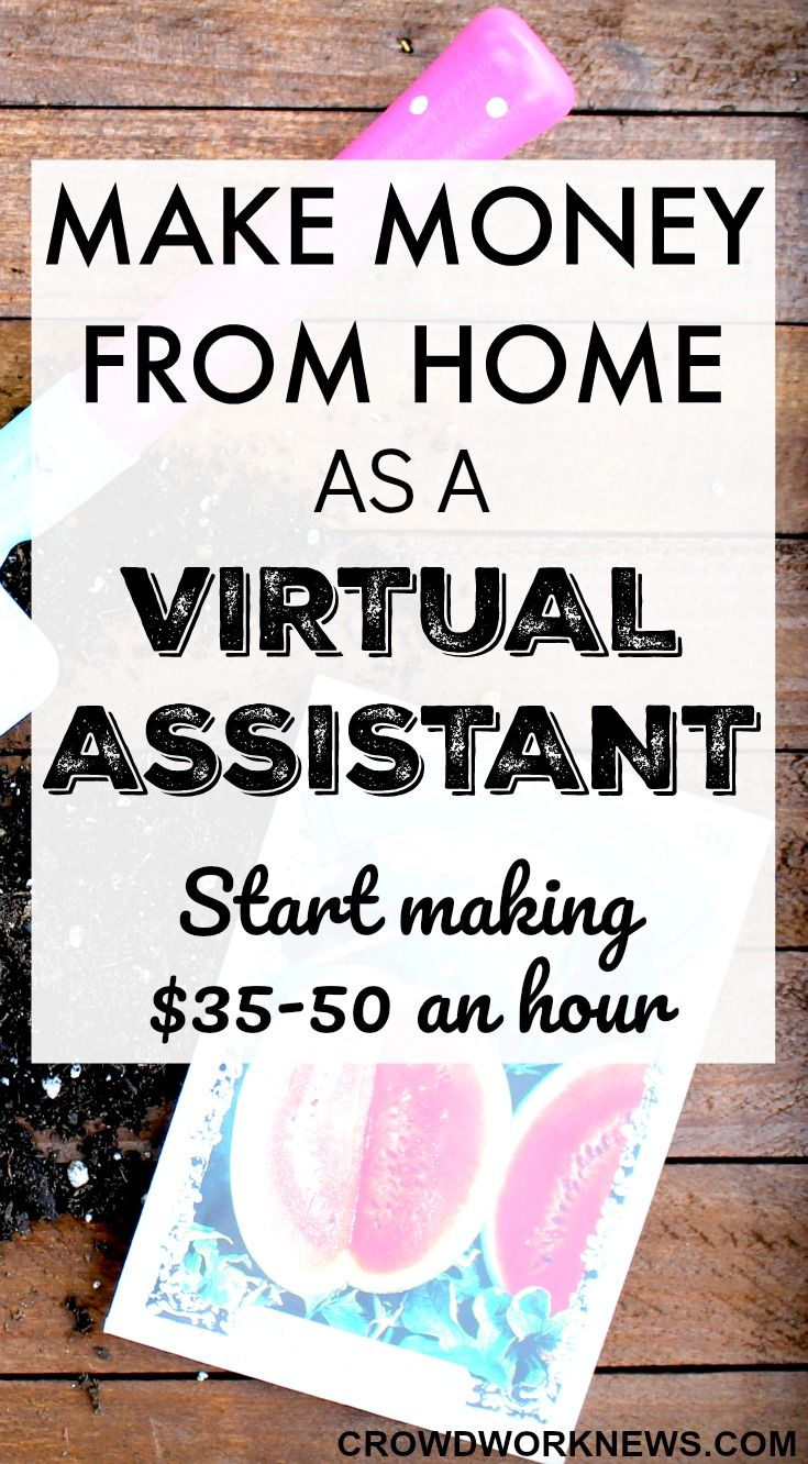 Do you know what is Virtual Assisting? It is the most popular work at home option and you can start earning around $35 per hour even as a beginner. Click through to find how to start this awesome work at home job/business.