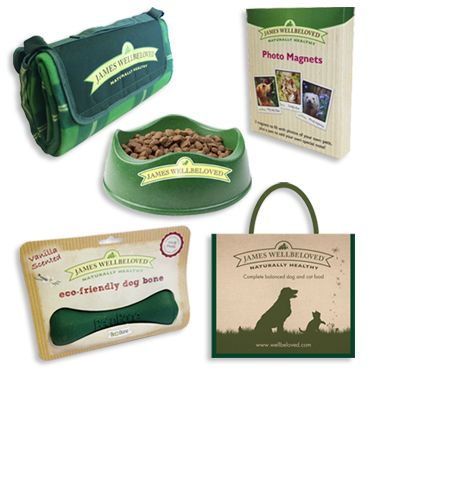 Win a James Wellbeloved Goody Bag (includes Jute Bag, Large Picnic Blanket, Beco Bowl, Beco Bone & Photo magnet set)