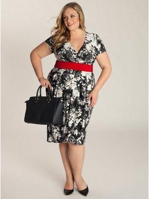 Vestidos plus size - corpo ampulheta