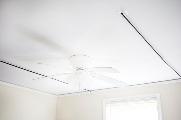 How To Hang A Canopy From The Ceiling Without Drilling Holes In