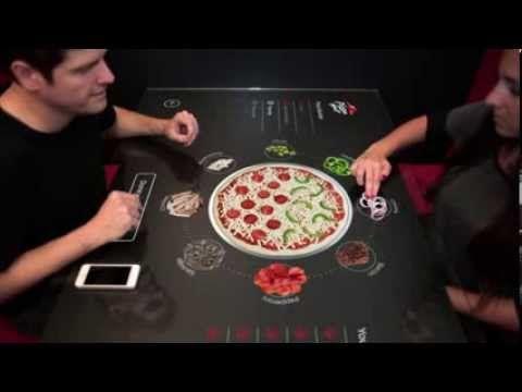 Pizza Hut + Chaotic Moon Studios Interactive Concept Table