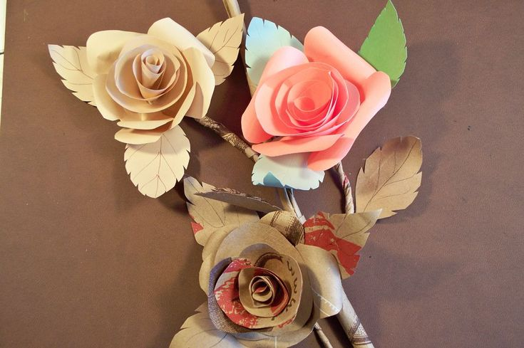 instructables...how to paper roses!