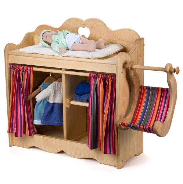 17 best images about diy waldorf inspired doll houses on Wooden baby doll furniture