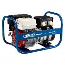 Draper PG7500R 7.5KVA Honda Petrol Generator