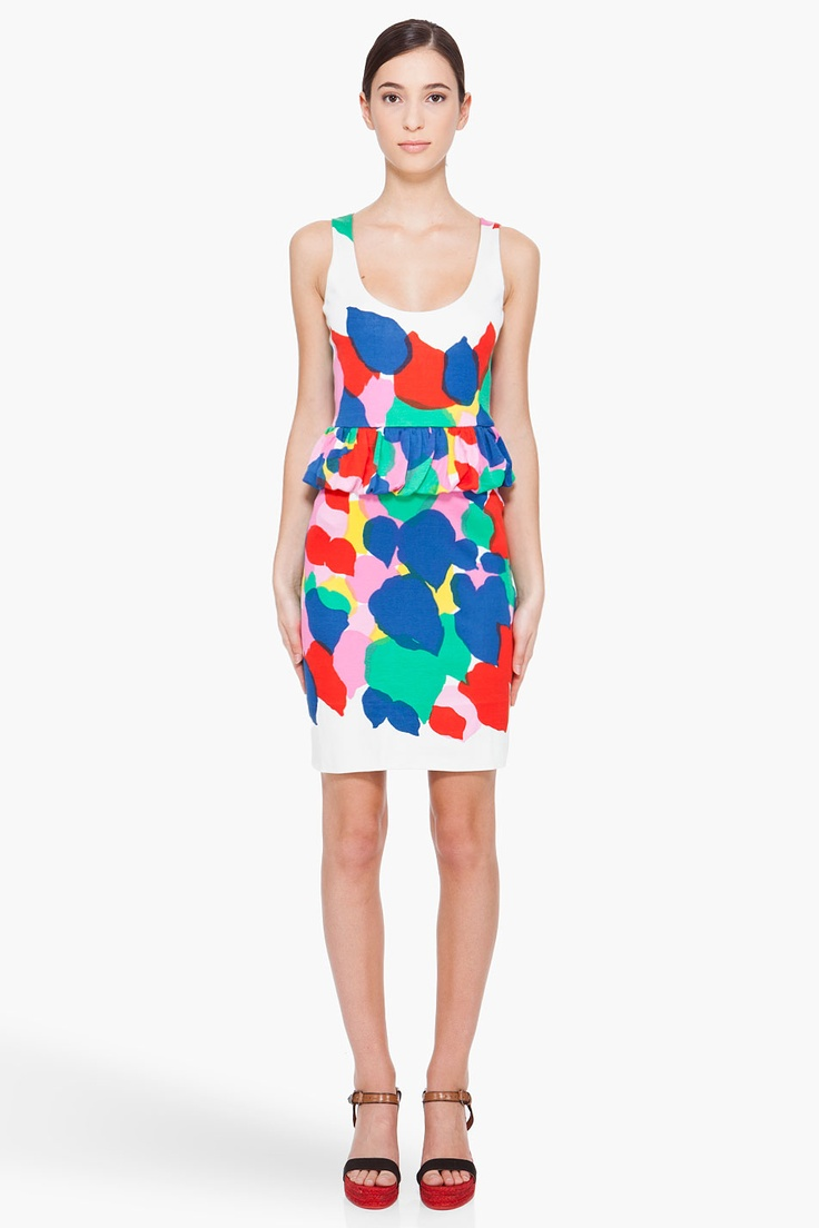 Marc By Marc Jacobs - Multicolor Silk Blend Knit Dress