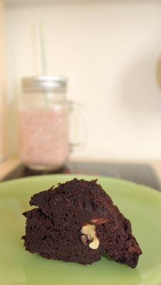 Mis Recetas Anticáncer: Bizcocho de garbanzos, cacao y nueces. Sin lácteos y sin harina