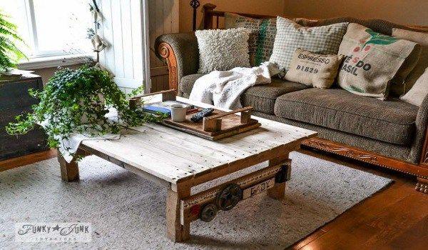 11 απίστευτα τραπέζια από παλέτες! - fumara.gr