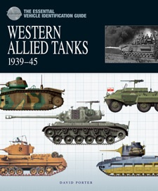 The Essential Tank Identification Guide: Western Allied Tanks 1939–45 by David Porter, Amber Books, is the definitive study of the equipment and organisation of the armoured divisions of the Western Allies during World War II. Organised by division, the book describes in depth the various models of tank in Western Allied service during the war with each individual armoured division, with listing of the unit commanders and any famous tank aces.