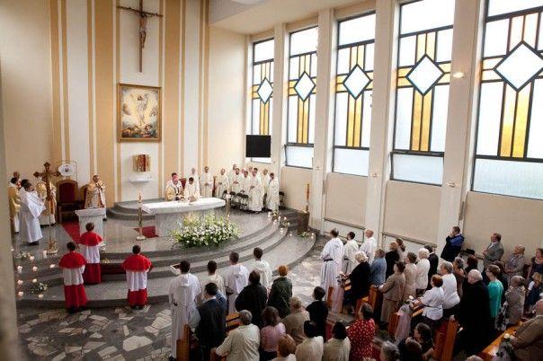 #Kościół dominikanów w Katowicach. #dominikanie #katowice