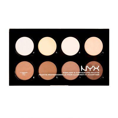 NYX Professional Makeup Highlight & Contour Pro Palette 16.2g