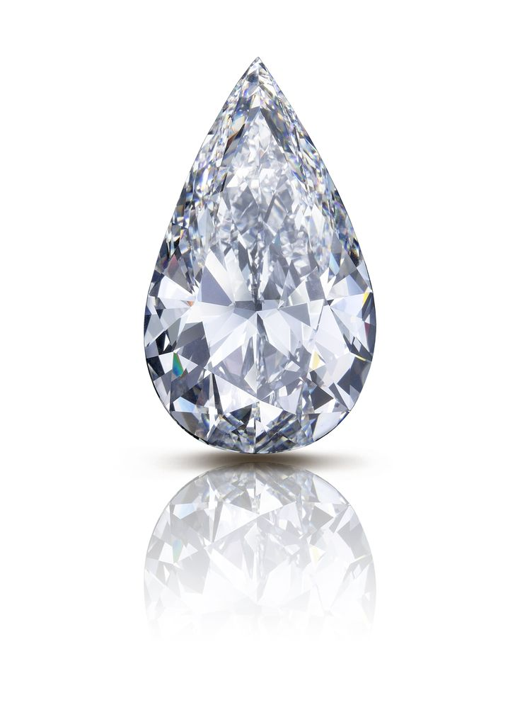 The Flame An Incredible 100 Carat Pear Shaped D