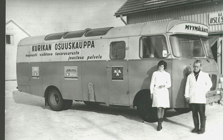 Kurikan Osuuskaupan myymäläauto.