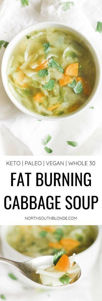 Eine Kohlsuppe, die einfach, kohlenhydratarm, kalorienarm und kraftvoll fürs Gewicht ist