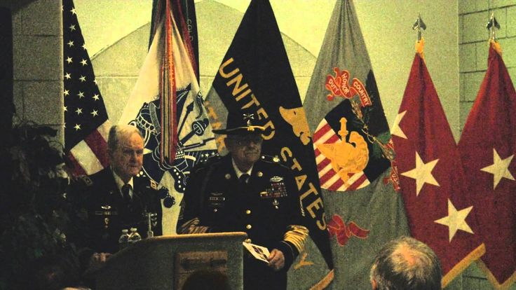 General Hal Moore and Sergeant Major Plumley at Westpoint on May 10, 2010. Moore then led the 1st Battalion, 7th U.S. Cavalry, in the famous battle at Ia Dra...